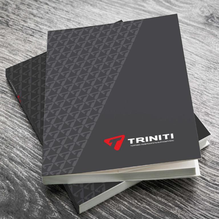 Portfolio Corporate identity for TRINITI