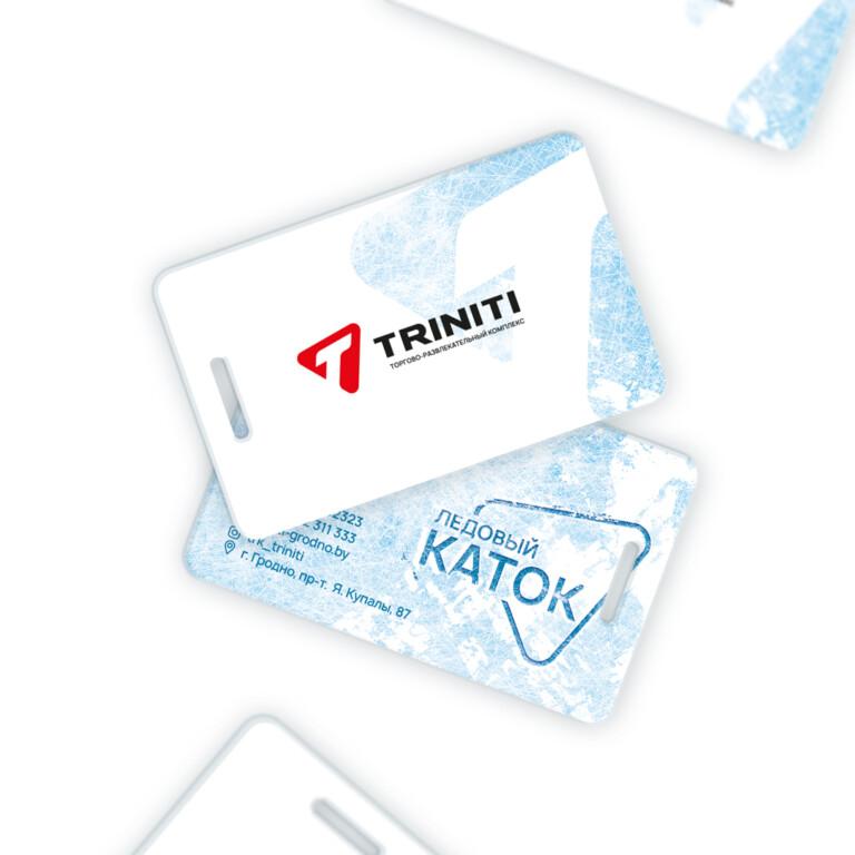 Portfolio Access card design for TRINITI